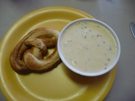 Baked With Love: pretzel and soup