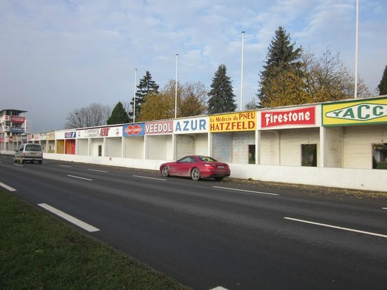 old garages picture of circuit de reims gueux reims tripadvisor. Black Bedroom Furniture Sets. Home Design Ideas