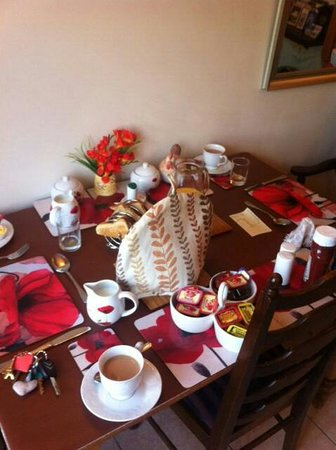 Fenview Lodge B&B : What a spread!