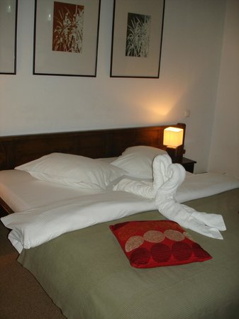 Transylvanian Inn: Comfortable bed))
