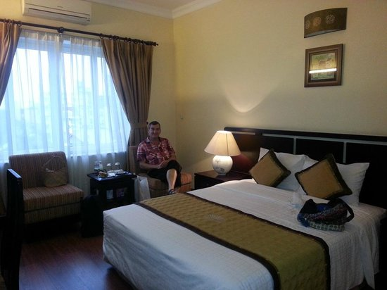 Thang Long Opera Hotel: un repos bien mérité...