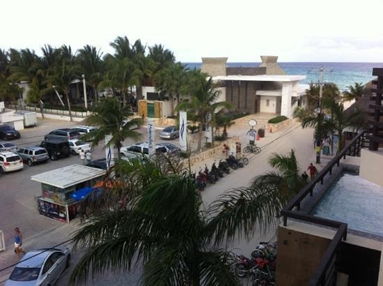 Aldea Thai Luxury Condohotel: view from balcony of room 205