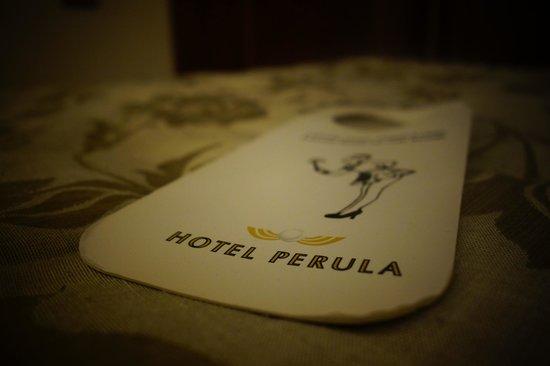 Hotel Perula: Hotel Room