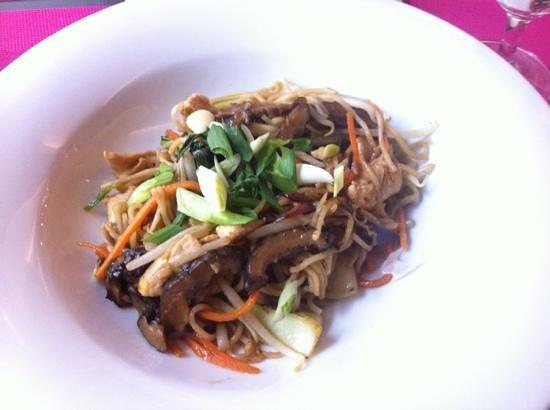 Papaya : ramen légumes et poulet