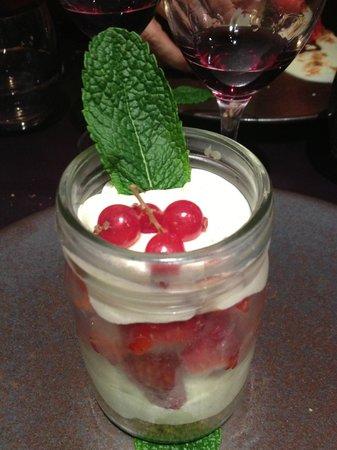 Brasserie Francotte : Dessert du jour