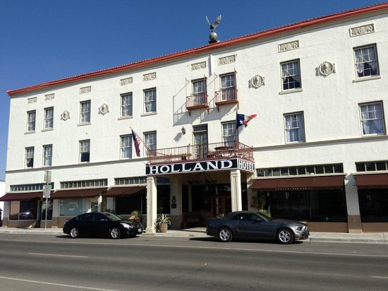 The Holland Hotel...