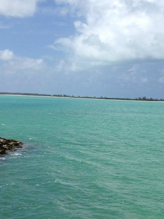 Downtown Providenciales: Deserted beach