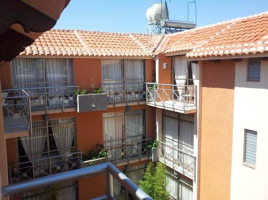 Axkan Arte Hotel: Desde mi balcón