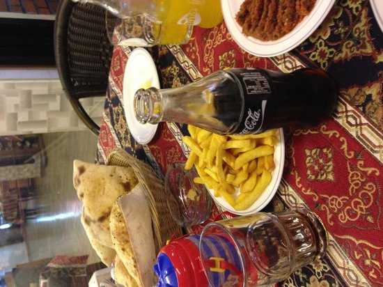 Adana Ocakbasi: Gotta have chips...we're Brits