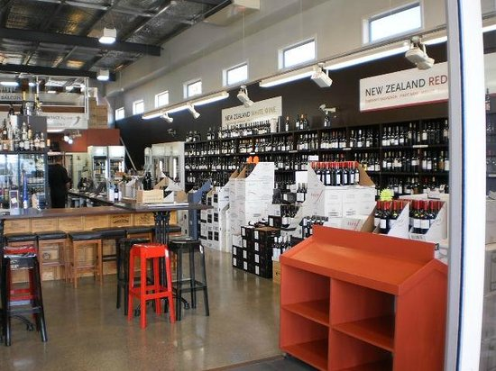 Northland Region, Nouvelle-Zélande : The fabulous wine section