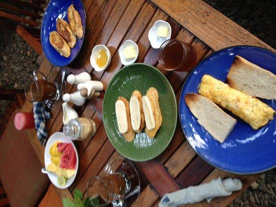 Lotus Villa Boutique Hotel: Breakfast made to order
