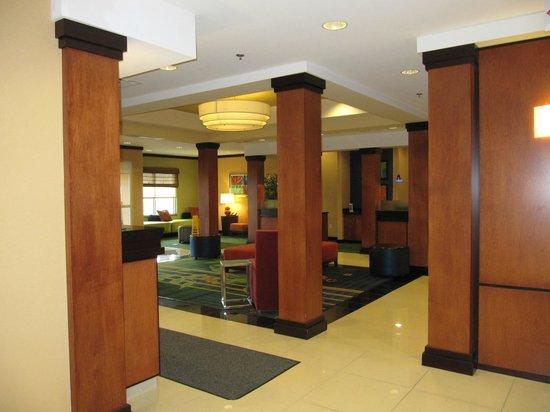 Fairfield Inn & Suites Harrisonburg: lobby