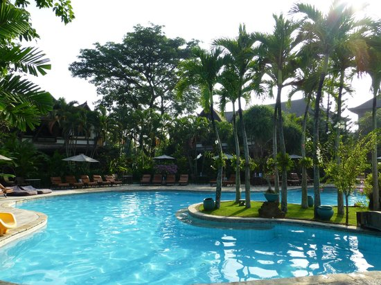 Hotel Vila Lumbung: view of the pool