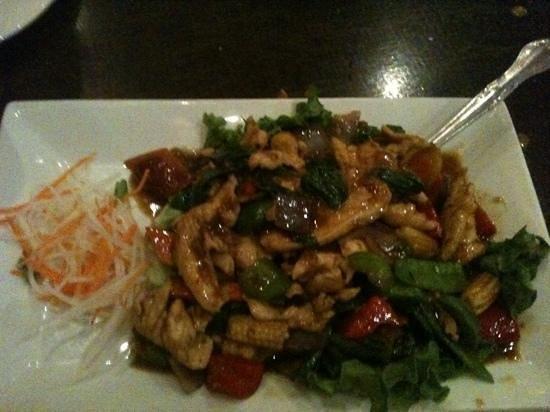 Penang Malaysian Cuisine: basil chicken