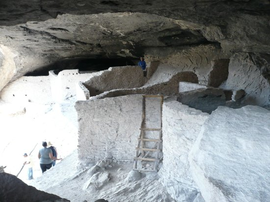 Gila Cliff Dwellings National Monument: Scenes from Gila Cliff Dwellings