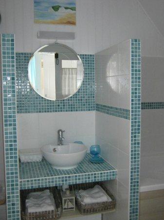 La Labigeoise : Salle de bain suite