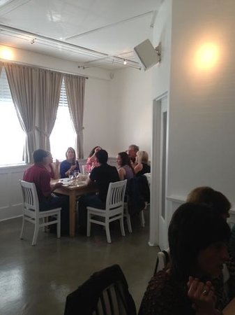 Wine Vault and Bistro: great table of friends