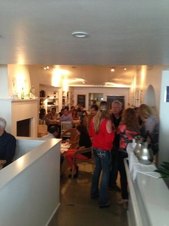 Wine Vault and Bistro: a busy night getting ready to task some great wine