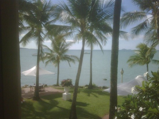 Coral Sea Resort: View from my room