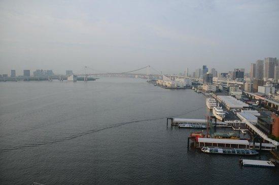 InterContinental Hotel Tokyo Bay: 中層階からの眺め