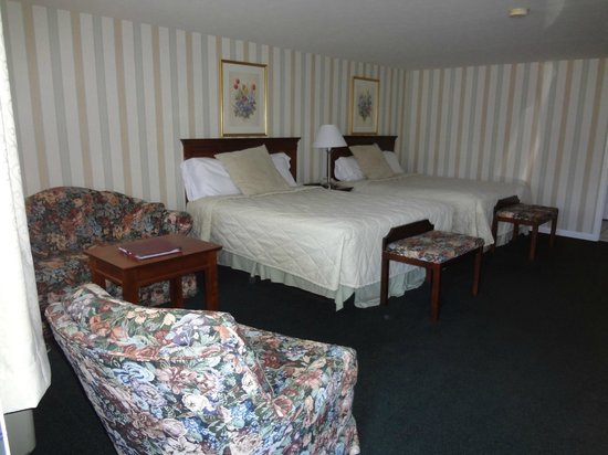 The Village Inn: our room