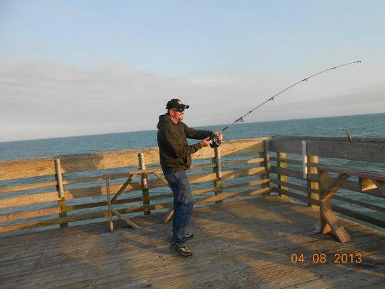 Pier 14 Fishing