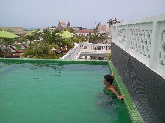 Hotel Monterrey: Terraza