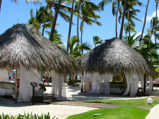 Dreams Palm Beach Punta Cana The Mage Huts On Where We Had A