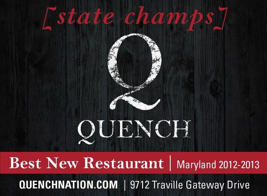 Quench: Thanks to our awesome guests, we won!