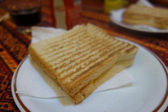 Sark Kahvesi: grilled cheese