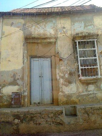 Barrio y Templo Santa Lucía : casa vieja santa lucia