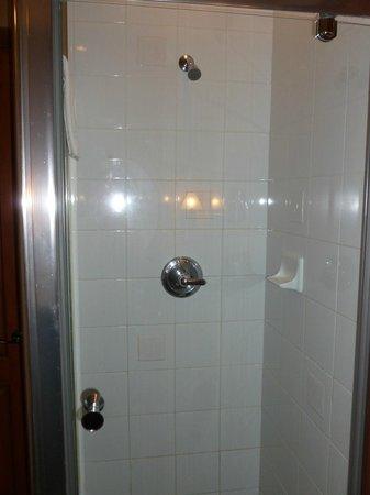 Le Sommet des Neiges: Shower stall