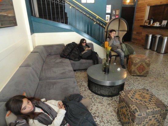 Hostelling International- San Francisco/ Downtown: Lobby