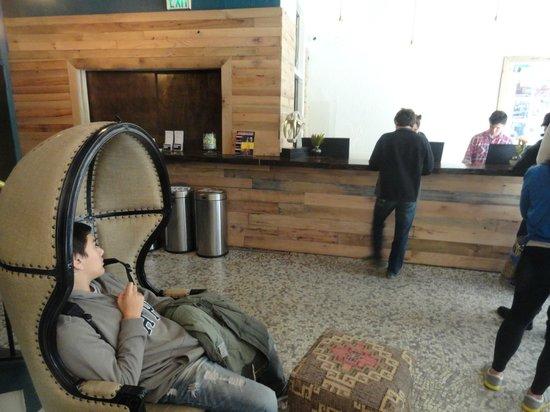 Hostelling International- San Francisco/ Downtown: Recepción