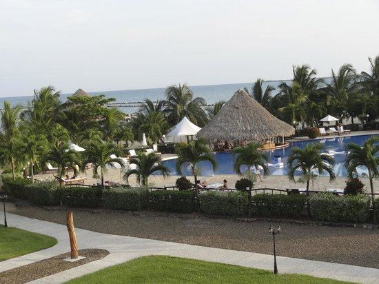 The Placencia Hotel and Residences: overlooking pool