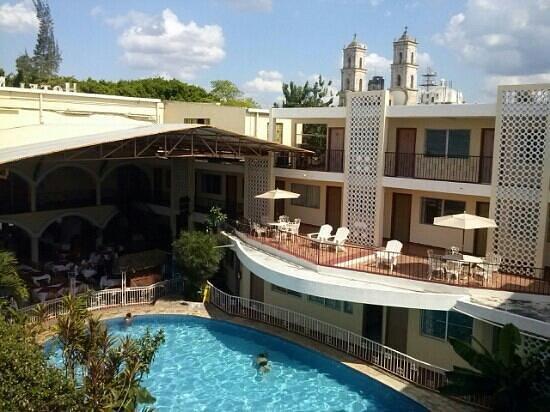 Maria de la Luz Hotel: refrescante unica alberca y excelente vista