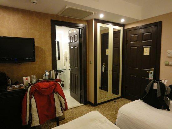 Cartoon Hotel: habitación