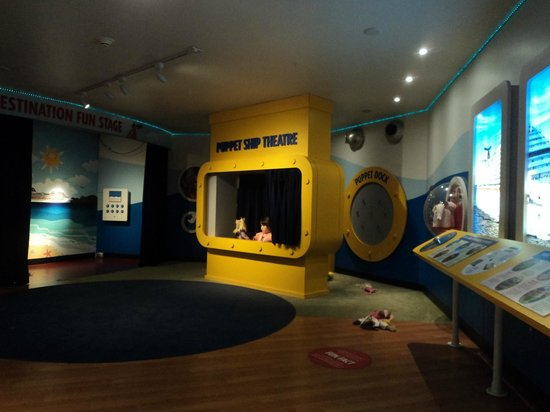 Miami Children's Museum : Zona de titeres