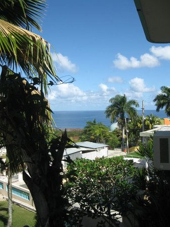 El Mirador Guesthouse: View From Second Floor Balcony (Domes)