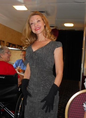 Seminole Gulf Railway Murder Mystery Dinner Train: Don't let her looks fool you, she's a killer....maybe