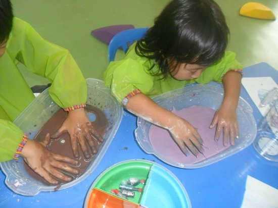 Little Play Loft Imaginative PlayGym: sensorial activity