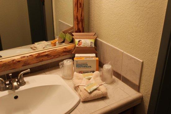 The Lodge at Lake Tahoe : Bathroom