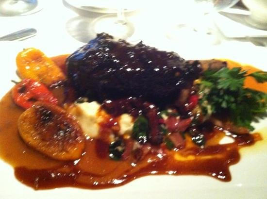 Chops City Grill: Short ribs with roasted peppers... delicious