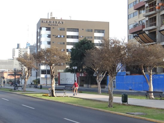 Habitat Hotel: Frente do Hotel