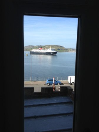 Corriemar Guest House: view from the room