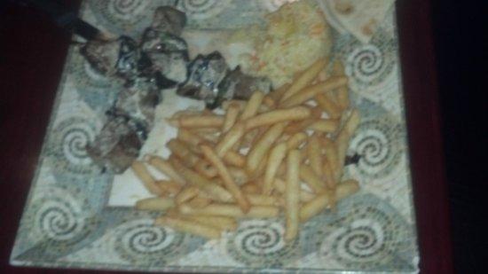 My Big Fat Greek Restaurant - Arizona Center: Delicious and wonderful presentation
