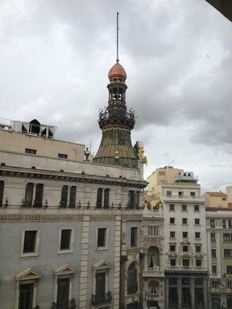 Quatro Puerta del Sol Hotel: ventana