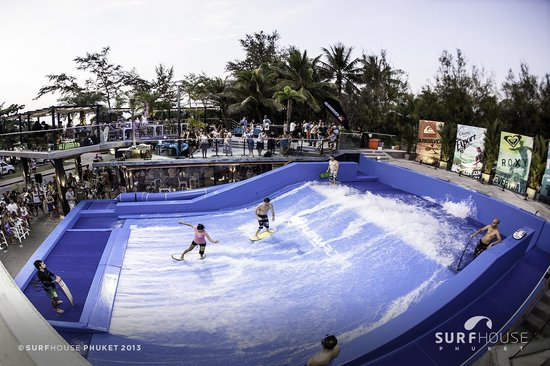Bodyboarding or Stand-up boarding, your choice! - Picture of Surf House Phuke...