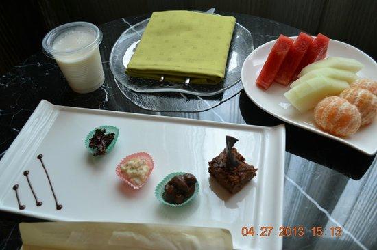 โรงแรมโมเวนพิค ฮานอย: treats given by the hotel