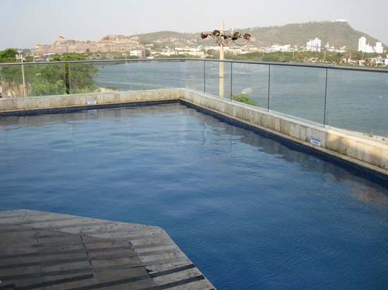 Armeria Real Luxury Hotel & Spa: Vista desde la piscina